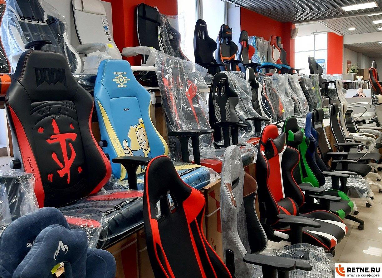 премиальные игровые кресла в магазине
