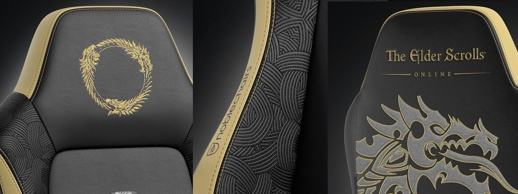 Noblechairs HERO (NBL-HRO-PU-ESO) PU Leather / The Elder Scrolls Online Special Ed