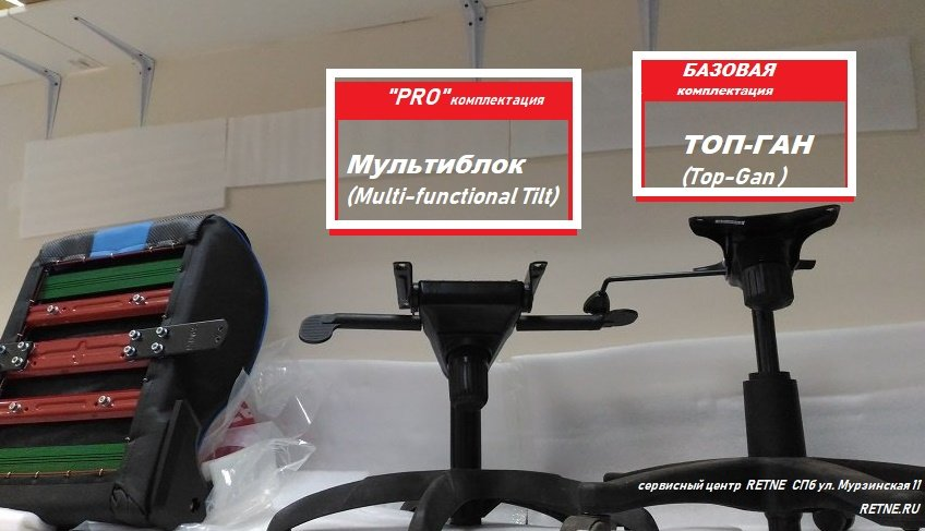 базовая и ПРО серия в креслах на мультиблоке