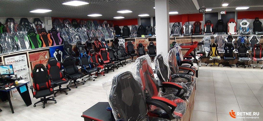 магазин игровых кресел RETNE в Санкт-Петербурге