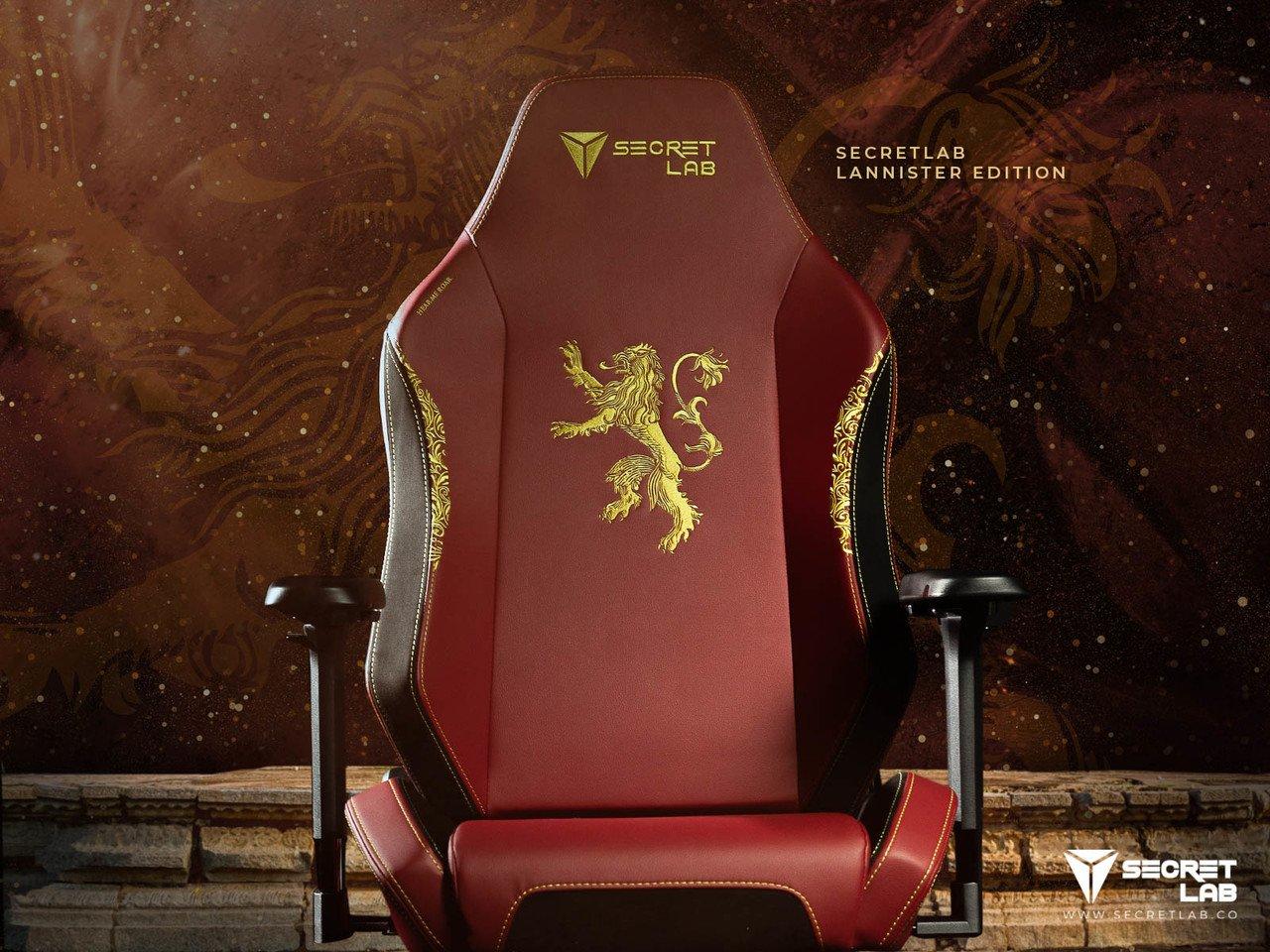 игровое кресло секретлаб