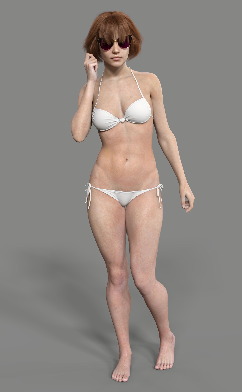 Iray SSS skin demo
